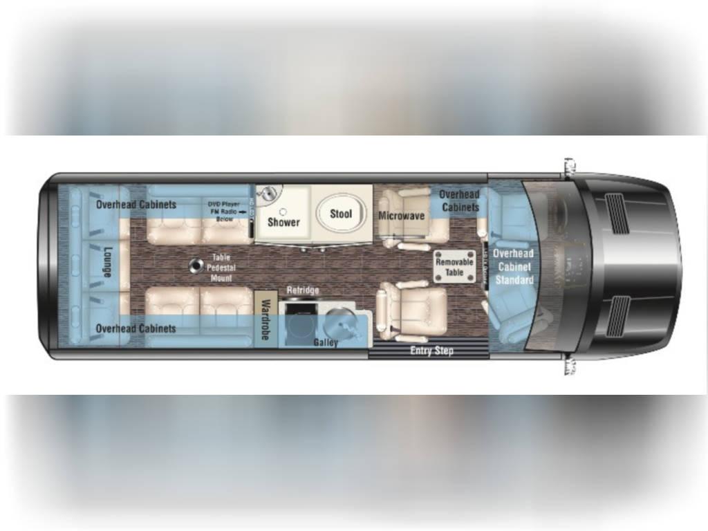 2021 MIDWEST AUTOMOTIVE DESIGNS PASSAGE MD4 LOUNGE