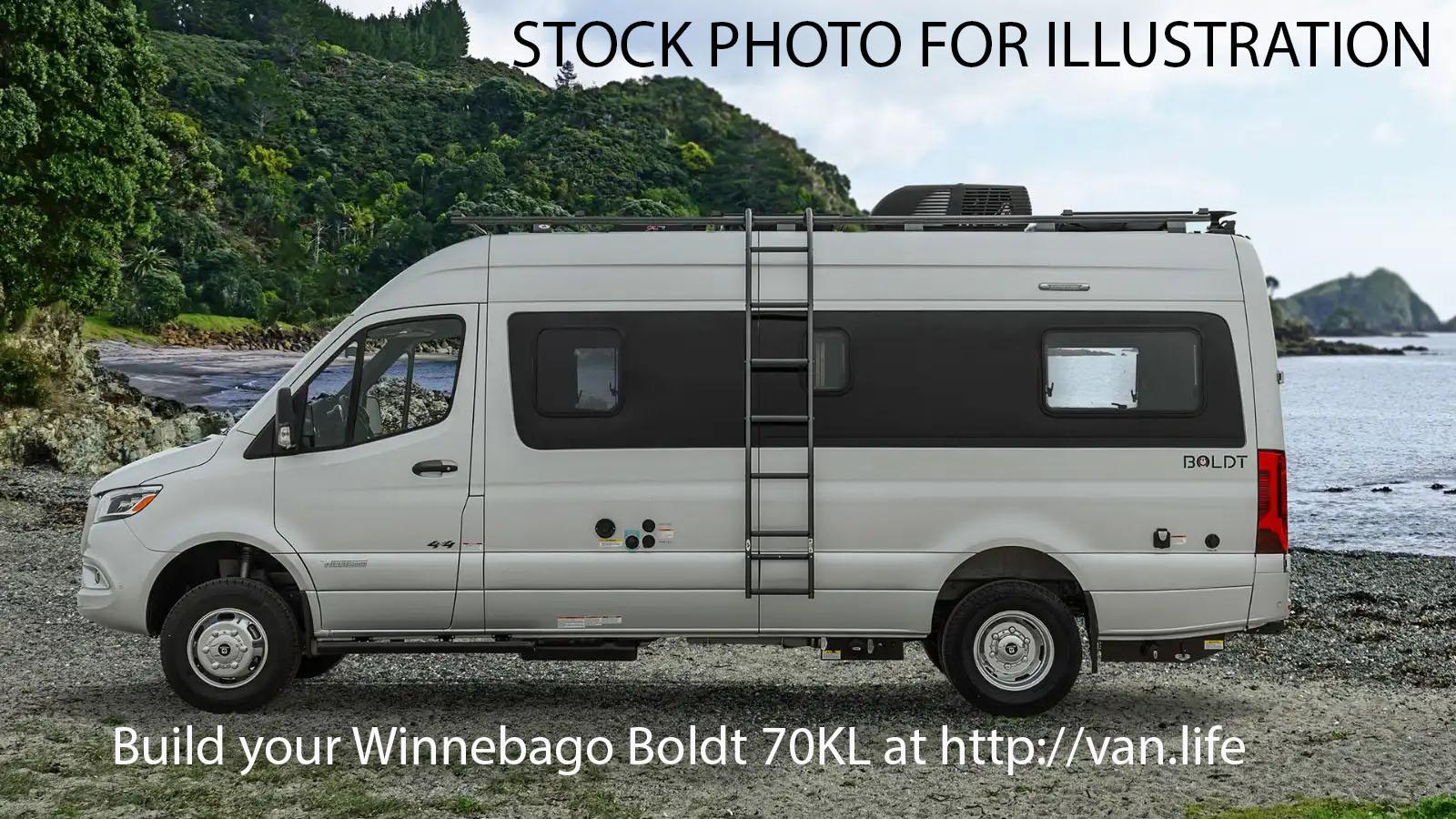 2022 Winnebago BOLDT 70KL LQ6 66B ITP 35Q 35B 091 54W 13Y 797